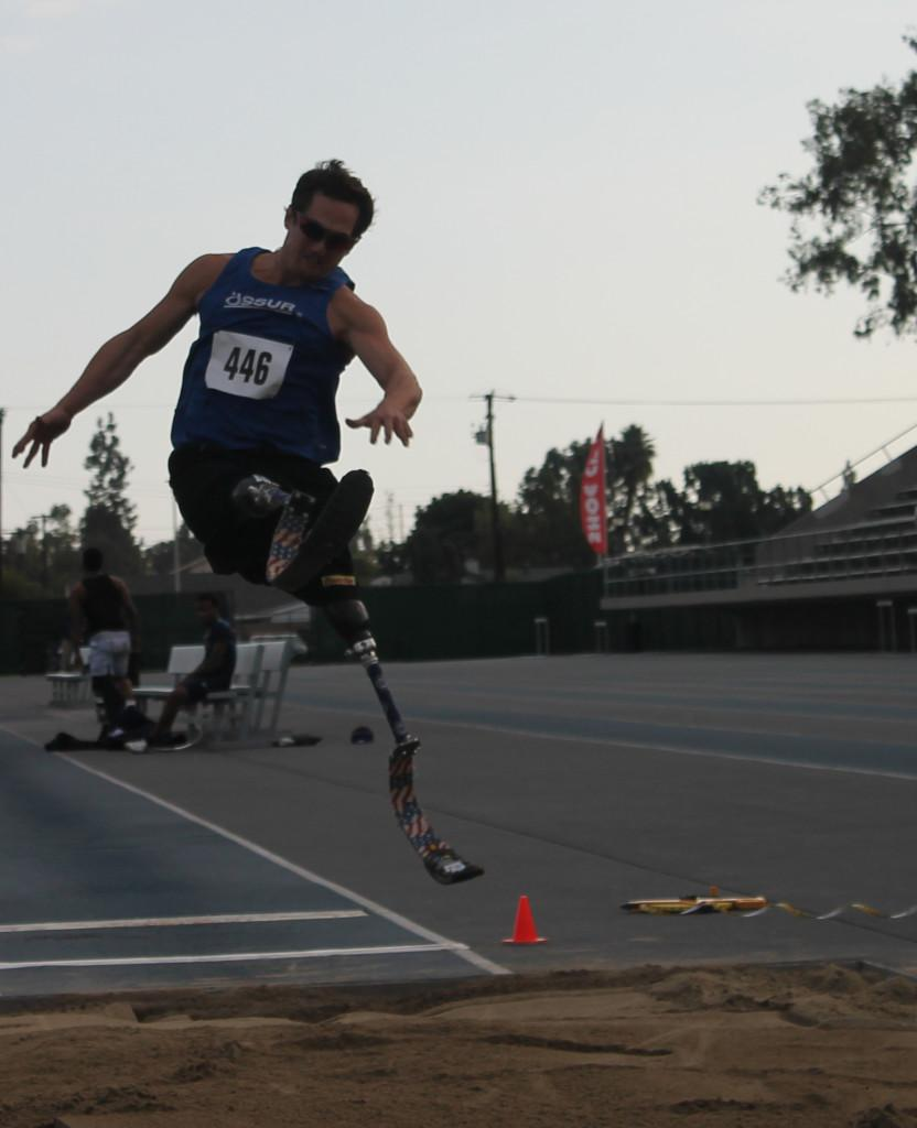 Athletes triumph in Paralympic event