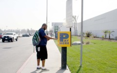 Quantity of parking machines not enough for students