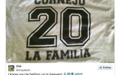 Life and death of Cornejo through social media