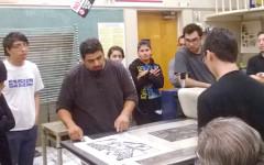 Sergio Teran: New member of Art Foundations and Printmaking
