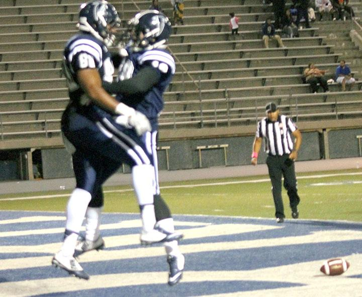 Falcons make three straight wins with homecoming game