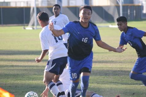 Frustration looms in men's soccer home loss