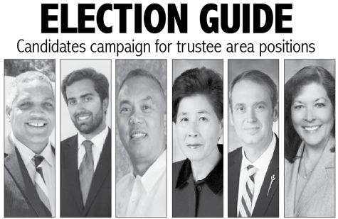 Candidates campaign for trustee area positions