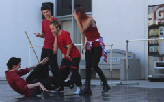Students perform to promote dance classes