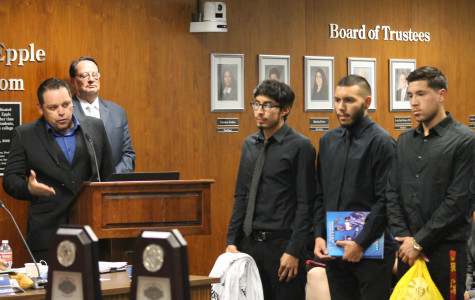 Updated book contract discussed in Board of Trustees meeting