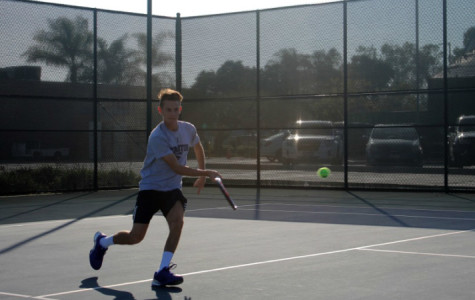 Slideshow: Men's Tennis Falcons vs. Comets | Feb. 6