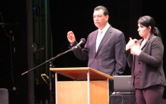 State of Education address held in Burnight theatre