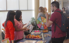 Food Project fair hosted in Student Center