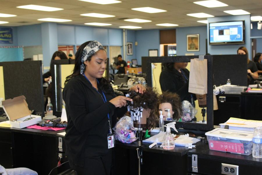 Students speak against the cosmetology department