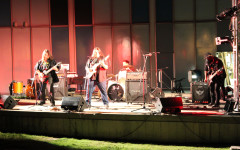 Genres collide at rock concert