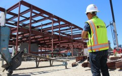 Inside scoop on the campus construction