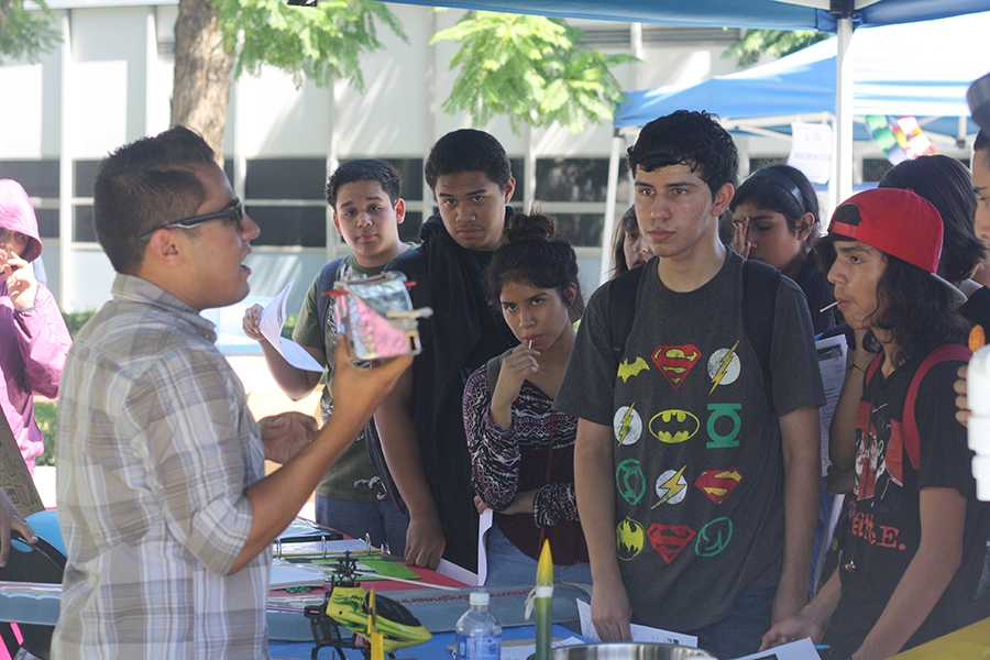 STEM showcase reels in students