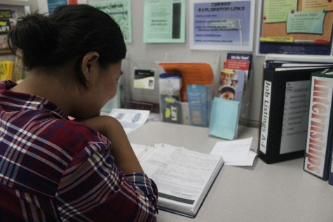Students can find guidance at Career Center
