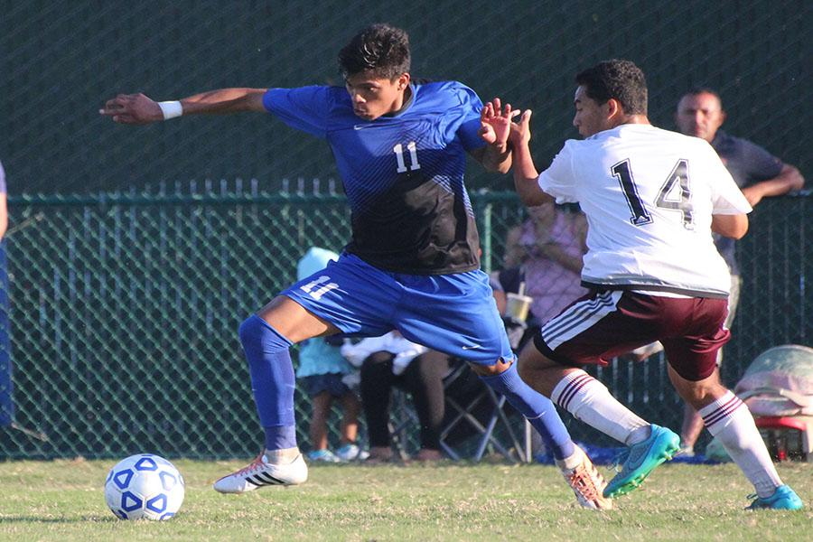 Rival game ends in draw for men's soccer