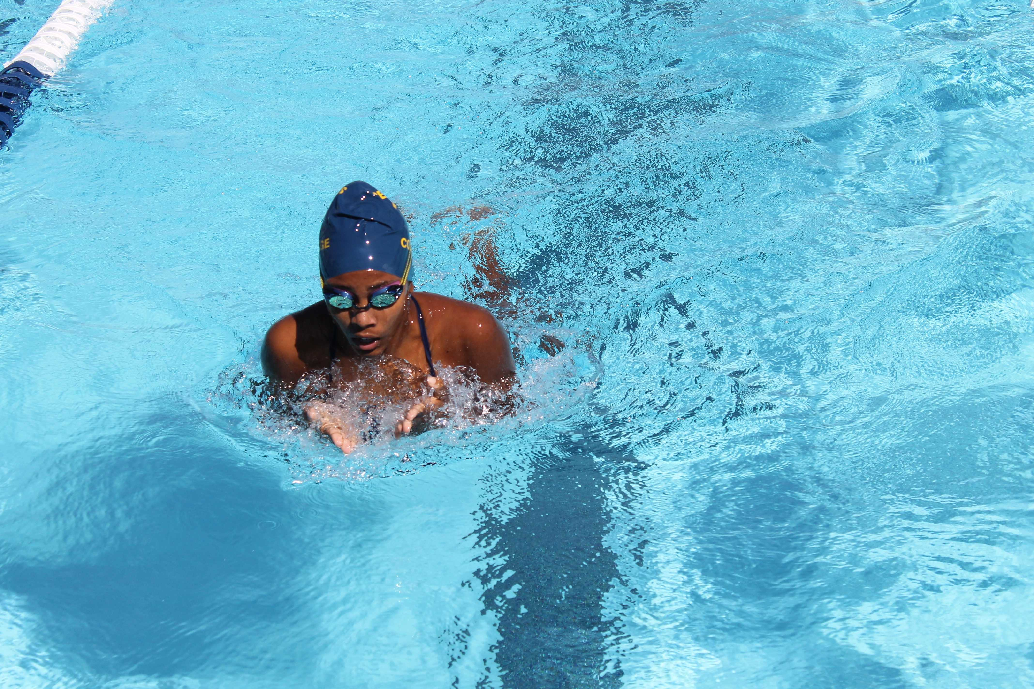 Chaffey takes the edge over women's swim team