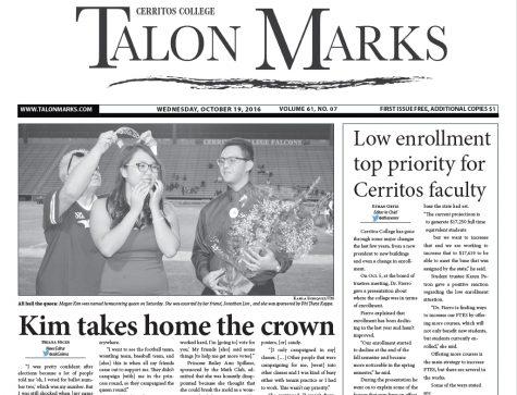 Talon Marks: Oct. 19, 2016 Volume 61, Issue 07