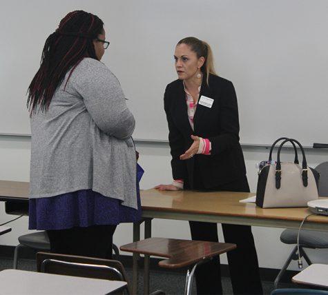 Students learn valuable job necessities at Enterprise Rent-A-Car workshop