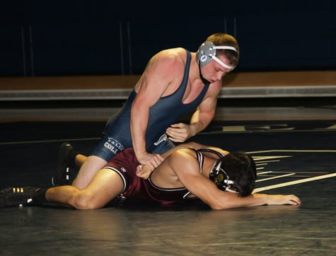 Cerritos wrestling clinches Southwest Conference title