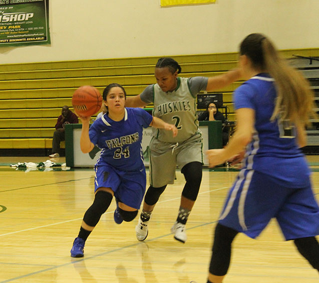 Falcons lay unresponsive against East Los Anglese College