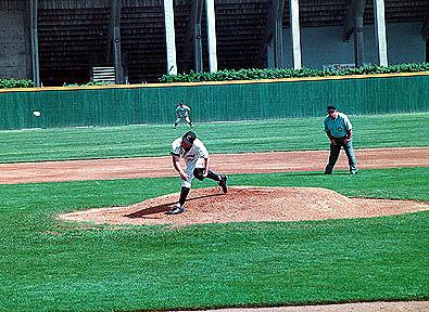 Pitcher throws shutout
