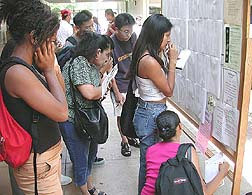 Students adjustto new semester