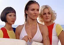 Lucy Liu, Cameron Diaz and Drew Barrymore star in the  action sequel Charlie?s Angels®