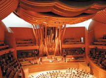 Disney opens futuristic concert hall