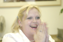 Renée Bloch iPod winner.