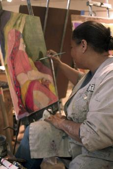Artists freely 'expose' their talents