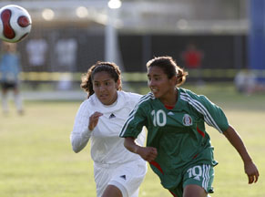 Mexican national team defeats Falcons