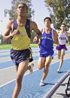 Track men, women rank first