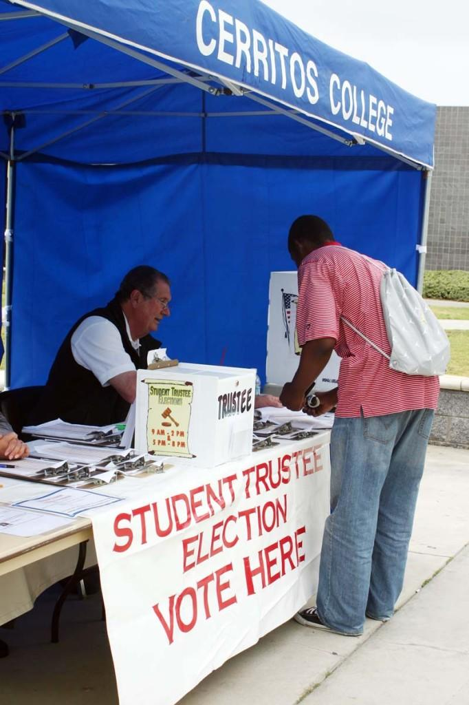 Student elections get high turnout