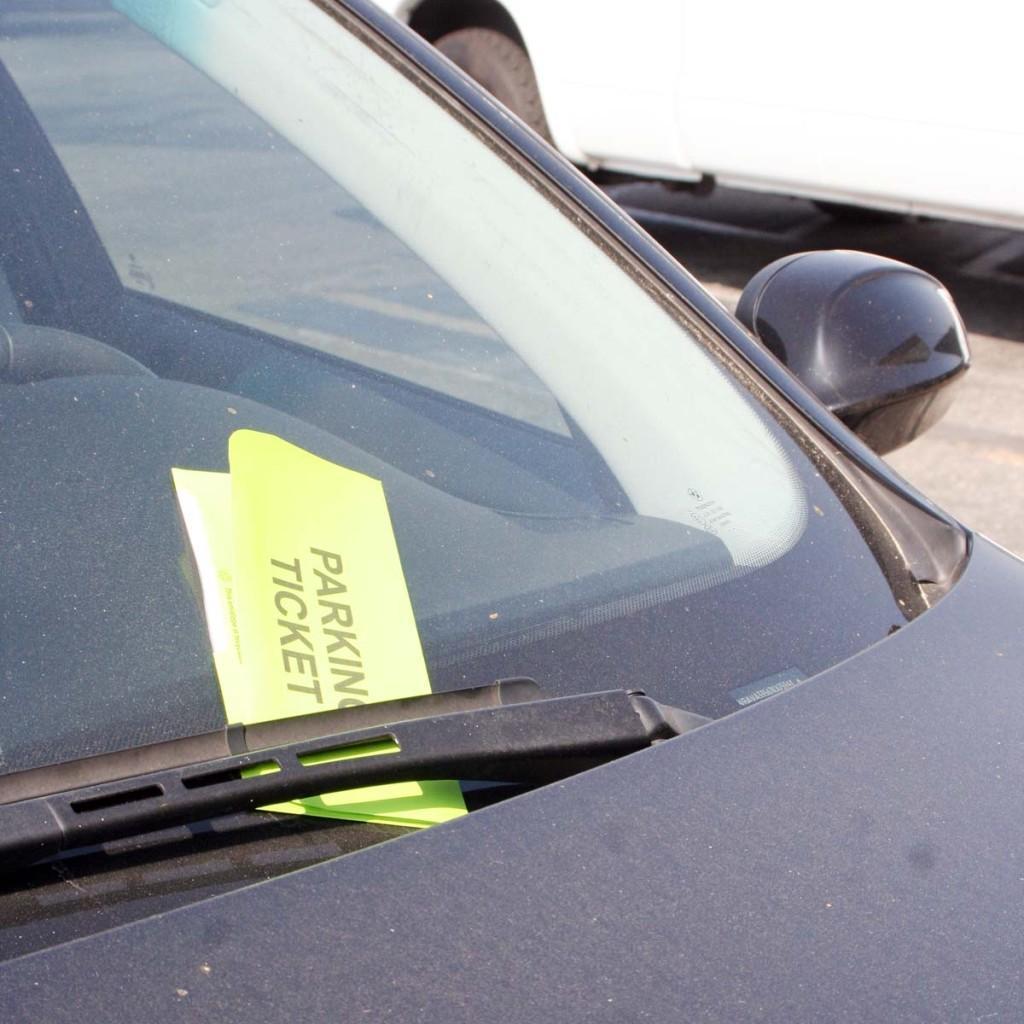 Don't park on Elmcroft