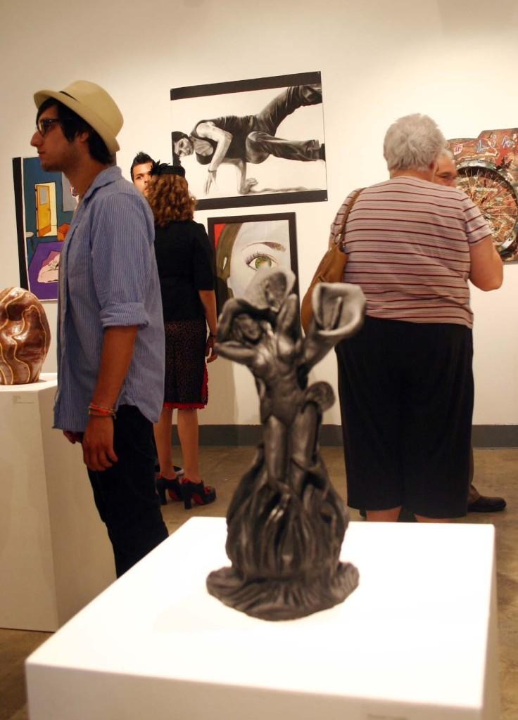 Student art opens in gallery