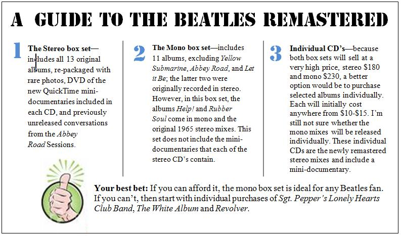 Beatlemania continues with game, remasters