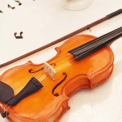 A classical music display can be found at the Cerritos College library. This month is Classical Music Month.