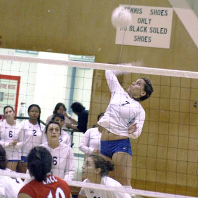 Volleyball regains swagger versus LA City