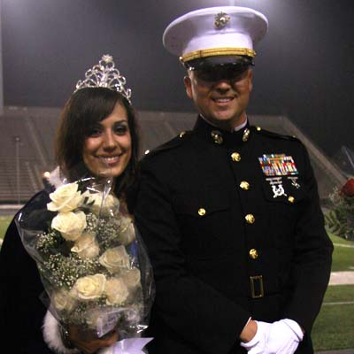 Mendoza crowned Homecoming Queen