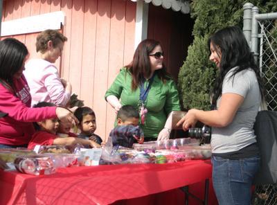 Child development has a bake sale for aid Haiti victims
