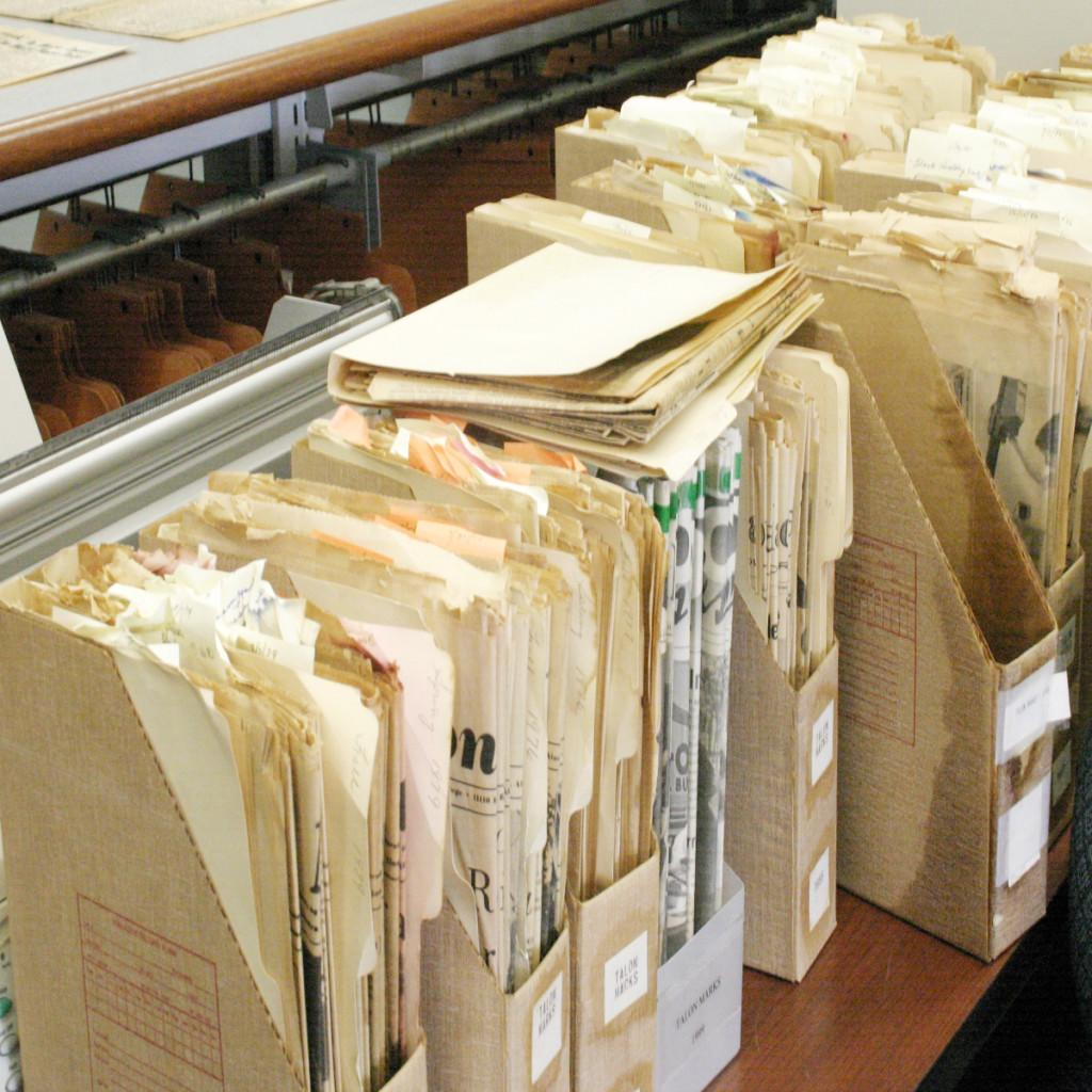 Rain washes up historic archives