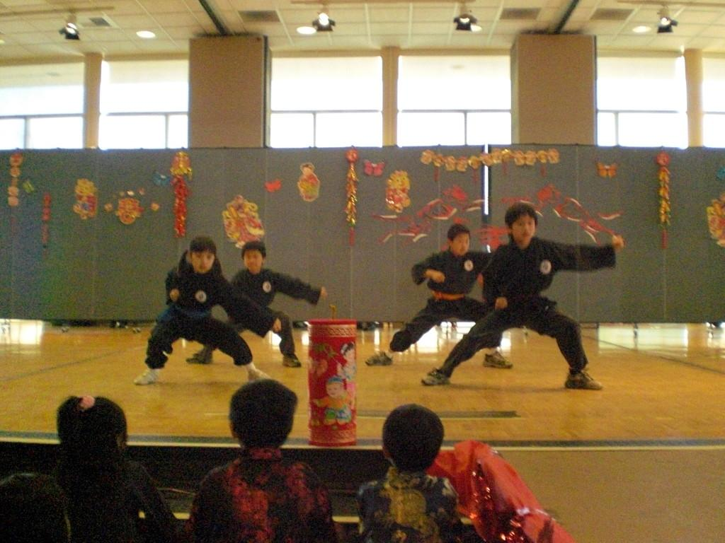 Dancers celebrate the chnese new year at the annual Cerritos Spring Festival