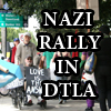 Nazi rally draws large crowds to Los Angeles City Hall