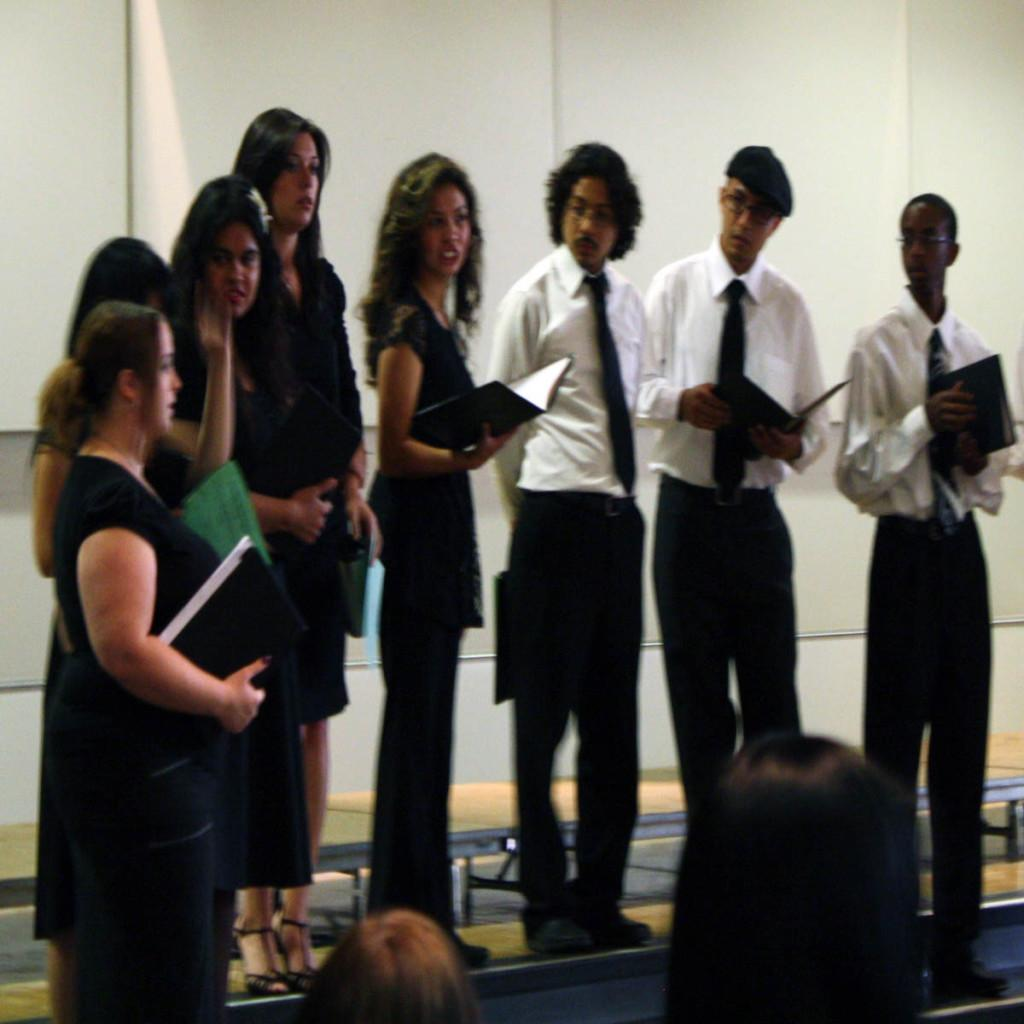 Spring Sing Concert featured college's choir
