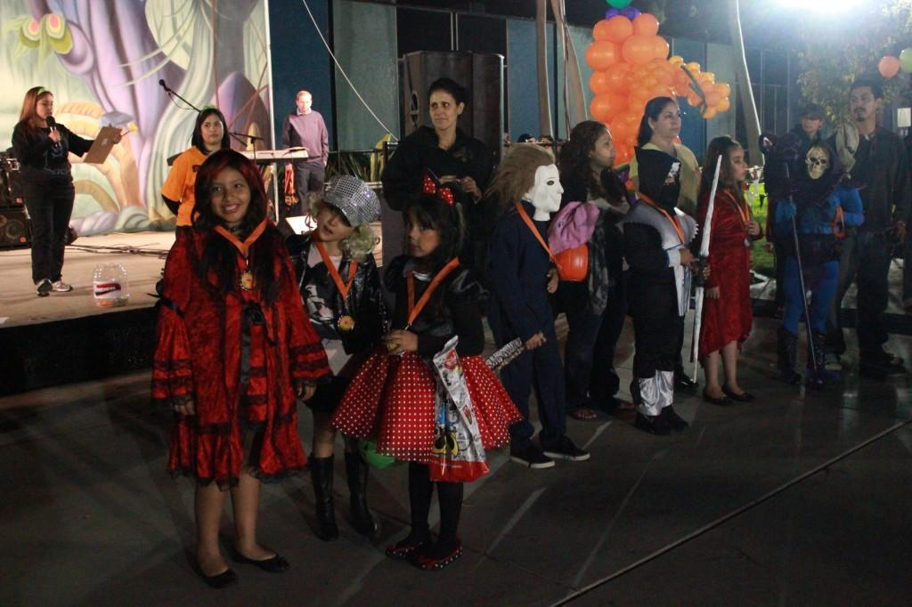 Families took their children to the City of Norwalk Halloween Festival. The EOPS club did its part in the festival by helping with the various activities.