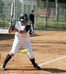 Softball fails to complete rally in final game of season openers