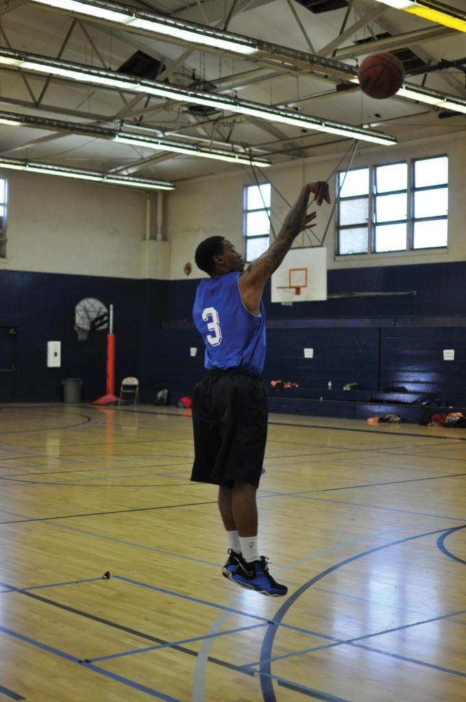 Freshman basketball players journey to top
