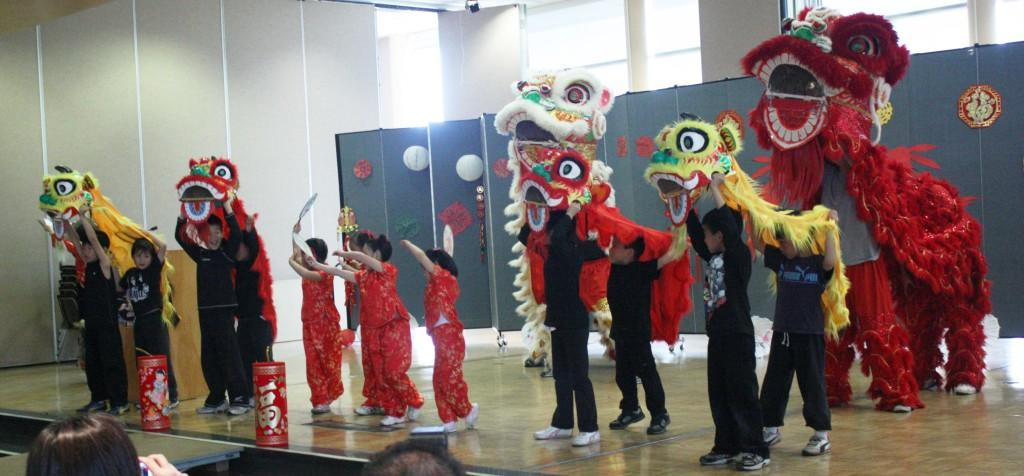 Fashion is displayed at Spring Festival