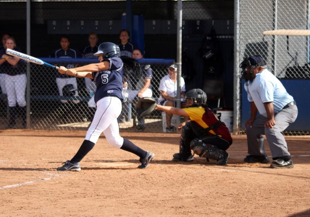 Softball wins over PCC in five innings