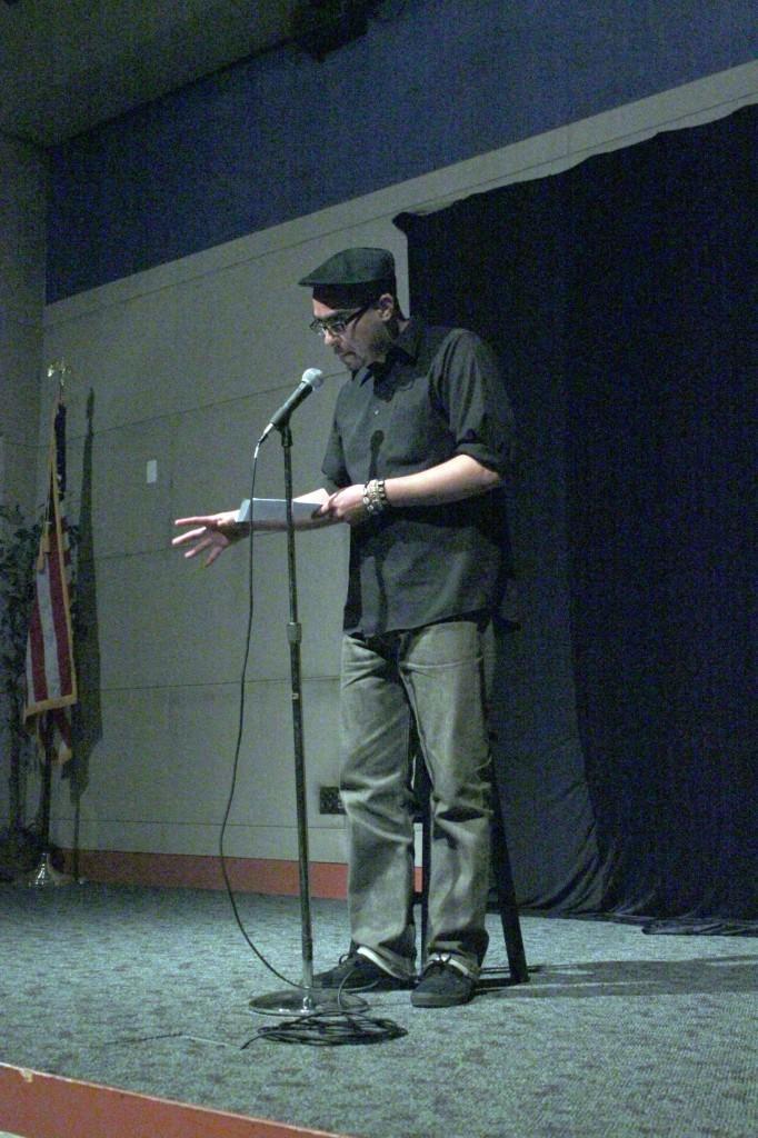 Poetry Slam rewards students' work