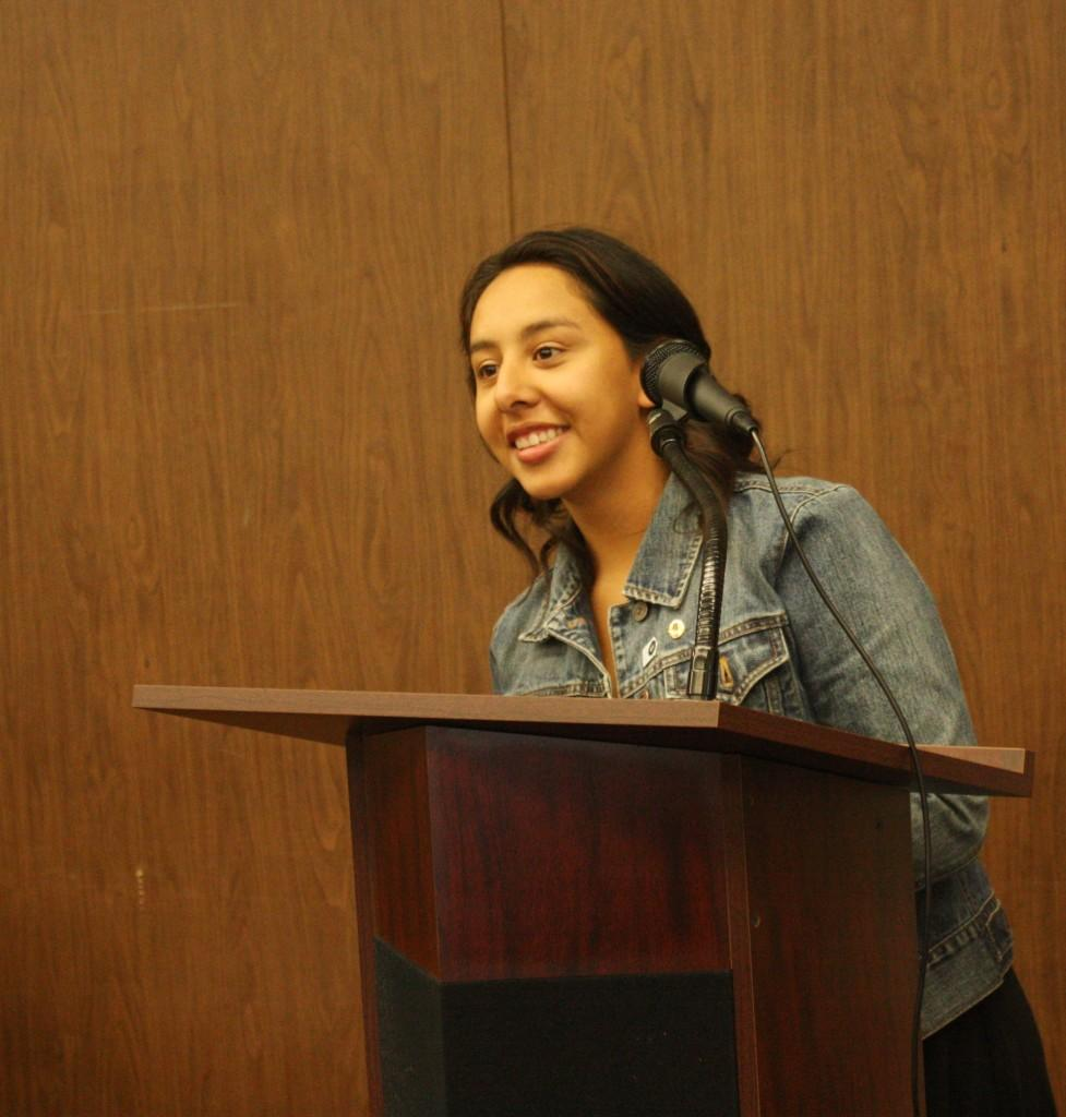 Jasmin Rameriez was named ASCC Preident for the fall of 2011.